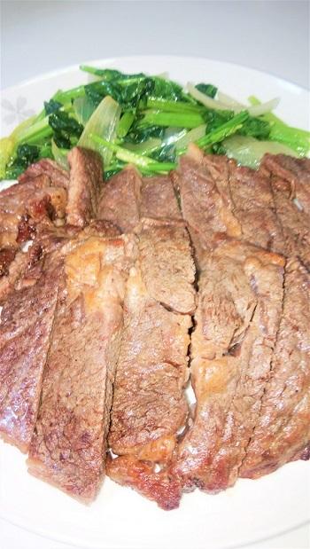 良い肉は焼くだけ簡単