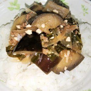 塩ミートソースからの麻婆豆腐からの麻婆茄子