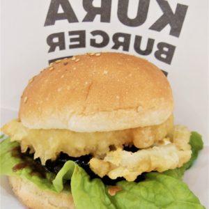 くら寿司のハンバーガー