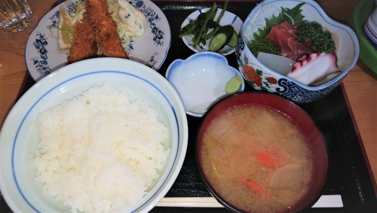 弓田食堂の定食