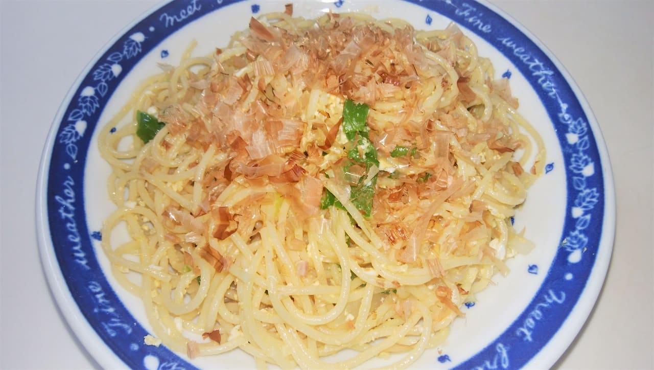 作り方簡単なスパゲッティ