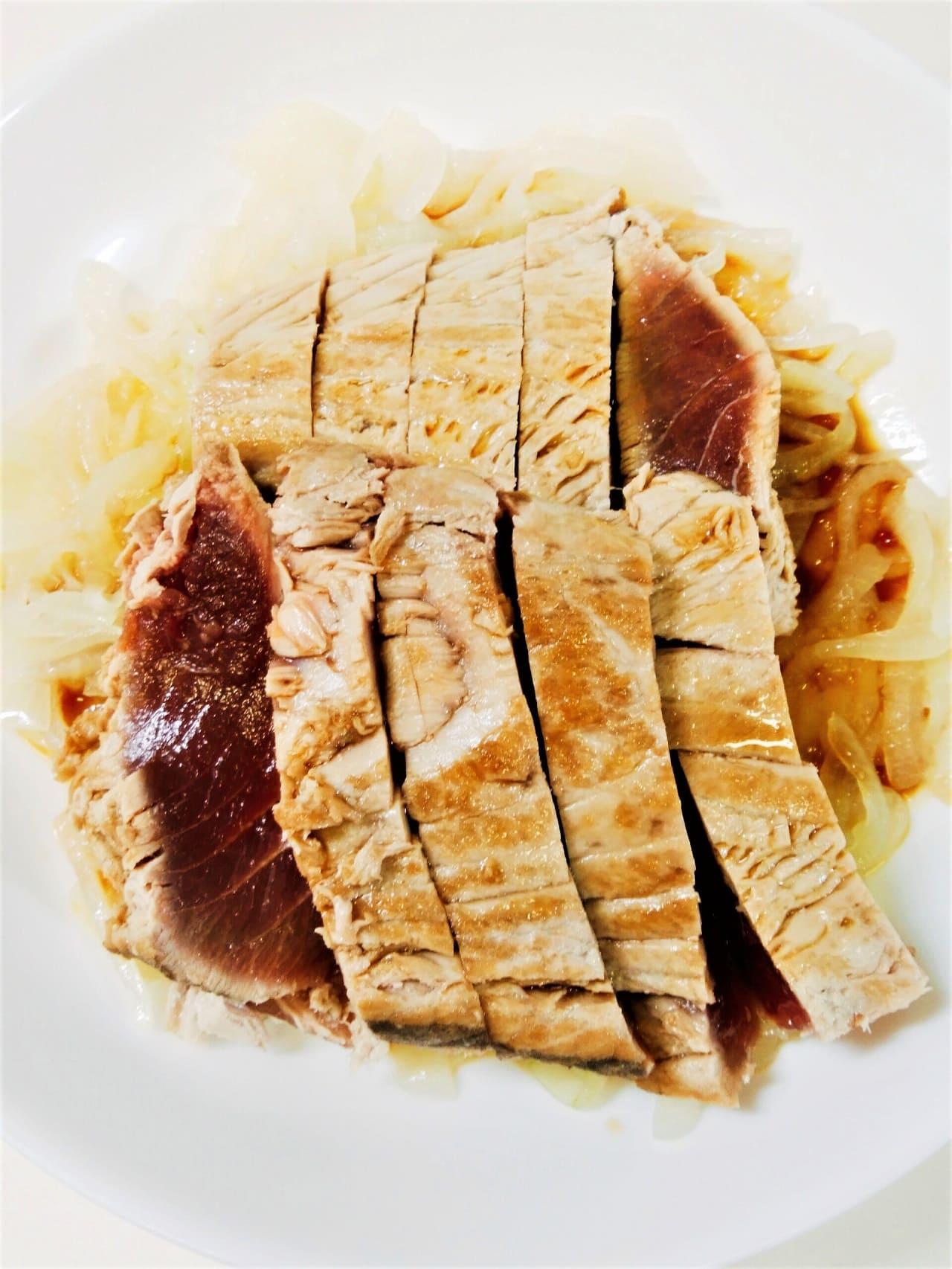 カツオのたたきタマネギポン酢