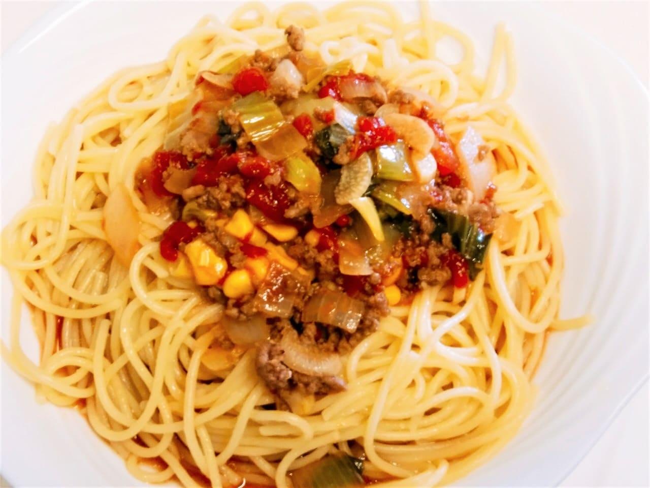 トマトスープスパゲティ